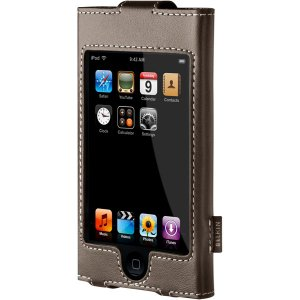 Belkin Leather Sleeve Case for iPod touch 1G 1st Generation (Chocolate Brown) F8Z226-BRN