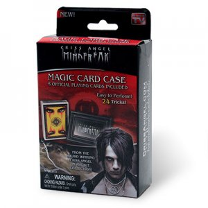 Criss Angel Mindfreak Magic Card Case with Official Playing Cards Trick