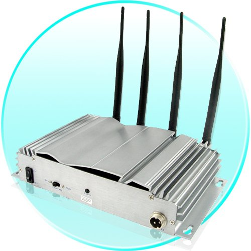 Mounted Cellphone Jammer with Adjustable Outputs