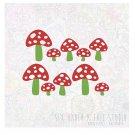 Little Mushrooms Wall Vinyl Decals Art Graphics Stickers
