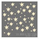 60 Stars Wall Vinyl Decals Art Graphics Stickers