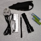 SSC P7 G&R Flashlight with Charger & Batteries