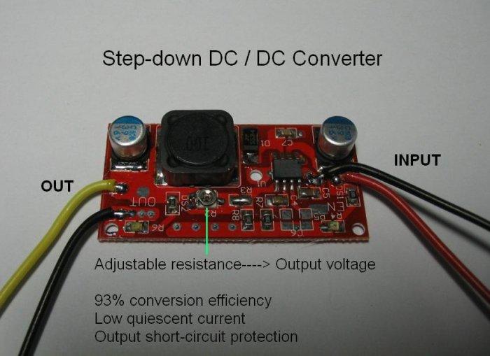 Low Voltage Stepdown Converter Circuit Diagram