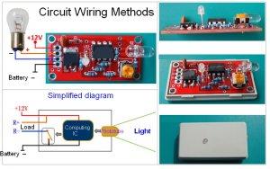 DIY Photoelectric DUSK TO DAWN 12V DC Swtich