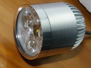 550Lm 12V High Power LED Spot Light for Motor Bike/Car