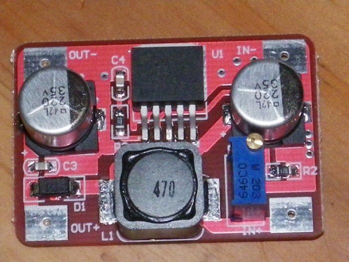 LM2577 Step-Up DC-DC Voltage Regulator 3.7~30V to 4~32V