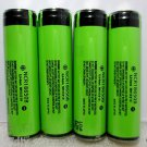 Panasonic NCR18650B 3400mA Li-ion Rechargeable Protected Batteries 4Pcs