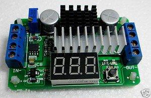 LTC1871 DC-DC Step up Adjustable Regulator 100 Watt Module  with Voltage Meter