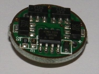 PWM 5Mode AMC 7135 2800mA driver for SSC P7, CREE MC-E CREE XML 3-4.5V input