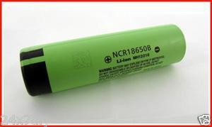 Panasonic NCR18650B 3400mA Li-ion Rechargeable Original Battery Made in Japan