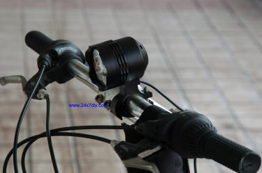4 LED 1800lm  Bicycle Light with 5200mA battery Pack