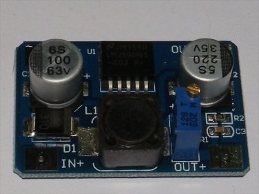 DC-DC Adj Step-down LM2596HV Regulator Module Input 5-56V Output 1.25V-30V