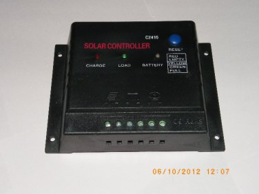 12V/24V 15A Solar Charge Controller C2415