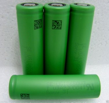 Original Sony US18650V3 2250mA LiMn High Cuttent Battery Made in Japan 4Pcs