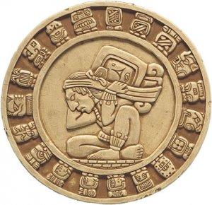 MAYA Calendar wall plaque home decor Mayan Art