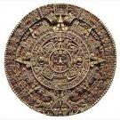 Aztec Pre Columbian Solar Calendar Wall Plaque Art
