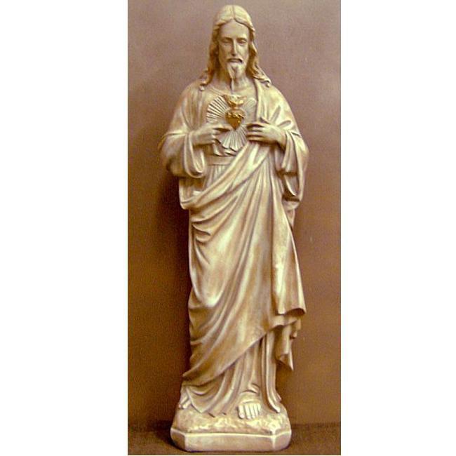 Jesus Christ of Nazareth standing statue sculpture