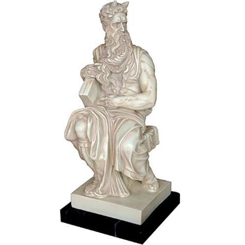 Moses for Tomb of Julius II by Michelangelo