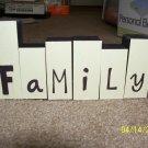 Wooden Blocks - Family Blocks