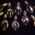 10 LOT GLASS HEART PENDANTS~CHARMS VIALS KIT ~FREE GOLD!~