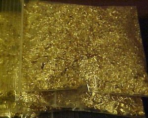 BAG~OF~GOLD FLAKES *FILL YOUR OWN VIALS!*