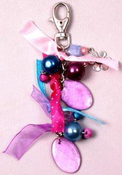 Belt/Purse Clip Turquoise Pink