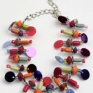 Multi color sequin bracelet