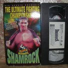 UFC The Ultimate Fighting Championship Ultimate Shamrock Vhs Video With Box