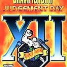 UFC The Ultimate Fighting Championship XII Judgement Day Vhs Video Box Art Inclu