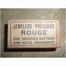 WWII JEWELERS POLISHING ROUGE Uniform Buttons Army Brand New In Box
