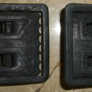 WWII 2 ENLISTED BLACK BUCKLES Army Web Buckles