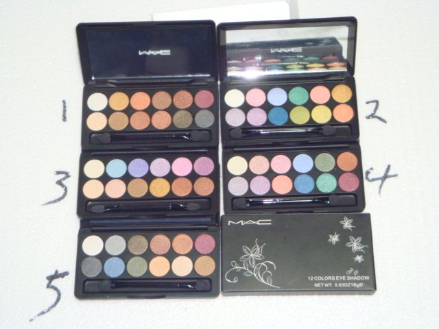 """M.A.C."" 12 COLOR PALETTE- NEW FOR 2009! FREE SHIPPING!"