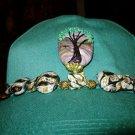 Tree of Life Beaded Baseball Cap
