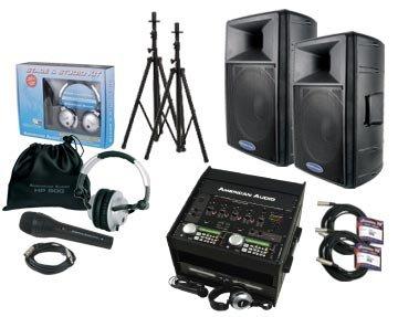 American DJ Mobile Audio system