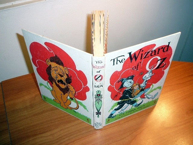 The Wizard of Oz - White edition series from 1964-65. Reilly & Lee