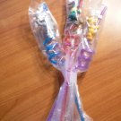 3 Wizard of Oz drinking straws from MGM studio. New