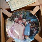 A glimpse of the muchkins collectible plate with 24K gold by Hamilton...