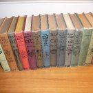 Complete set of 14 Frank Baum Oz books with color plates. Each books is...