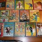Complete set of 14 Frank Baum Oz books. Post 1935 printing