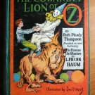 Cowardly Lion of Oz. 1st edition, 12 color plates (c.1923)