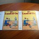 Facsimile dust jacket for Land of Oz book
