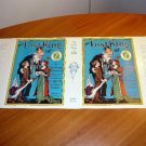 Facsimile dust jacket for Lost King of Oz book