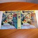 Facsimile dust jacket for Wonder City of Oz book