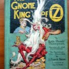 Gnome King of Oz. 1st edition, 12 color plates (c.1927)