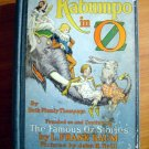 Kabumpo in Oz. 1st Canadian edition, 12 color plates (c.1922)