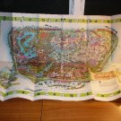 Large map of Disney park in CA from 1964. Size 30 x48