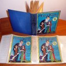 Lost King of Oz. Pre 1935 edition with 12 color plates in dust jacket (c.1925)