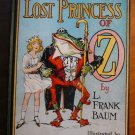 Lost Princess of Oz. Later printing with 12 color plates