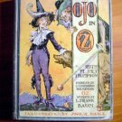 Ojo in Oz. 1st edition with 12 color plates (c.1933)