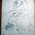 Original Dick Martin Artwork from Ozmapolitan of Oz (illustration on page 64)